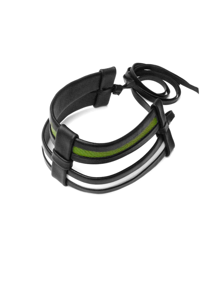 Cage 7 Choker - Green