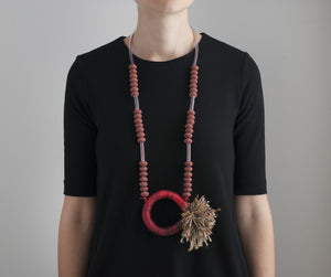 KALINA FILCHEVA Statement Jewellery, Statement Necklace, Art Jewellery, Contemporary Jewellery, Scarlet Sage, Cult Curators