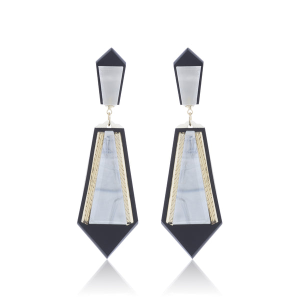 Petra Earrings - Mother of Pearl