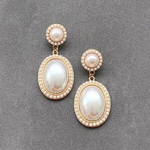 Vintage Victoria Pearl Earrings