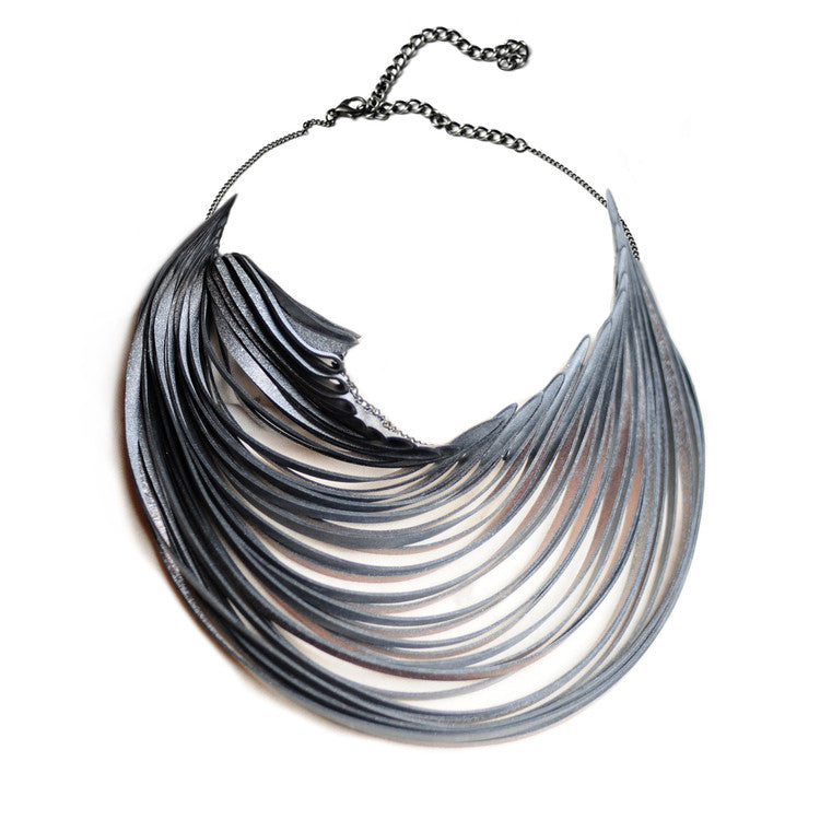 The Flow Necklace - Pale Turquoise