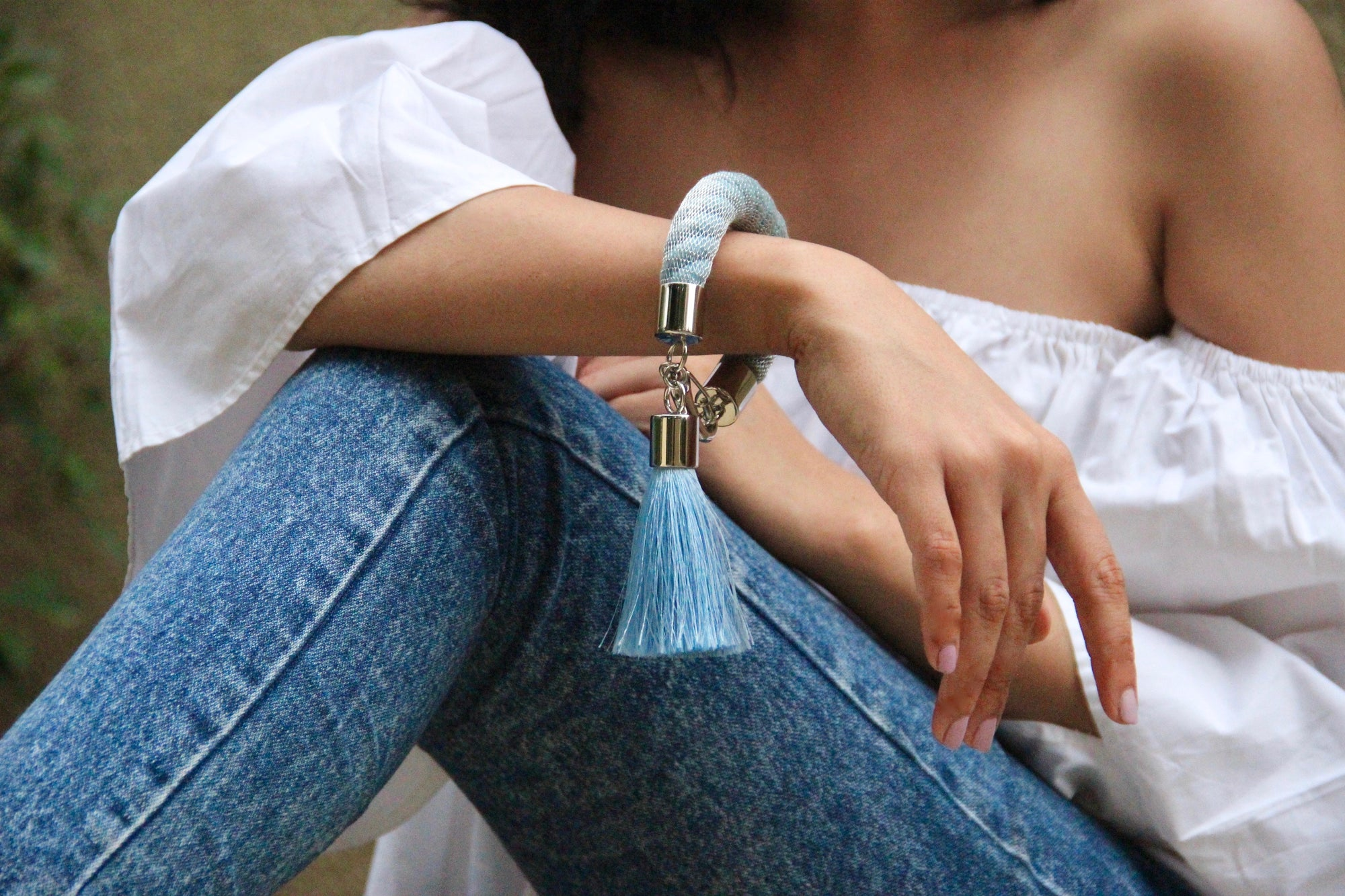 Orion Bracelet -Ice blue