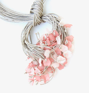 Suspended Corsage - Pink