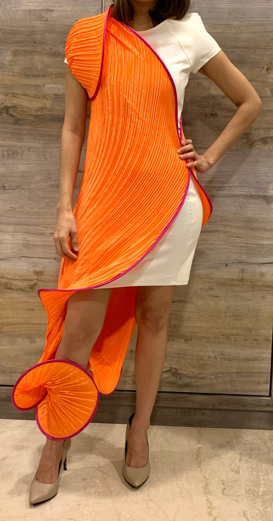 Wrap it - Orange Pink