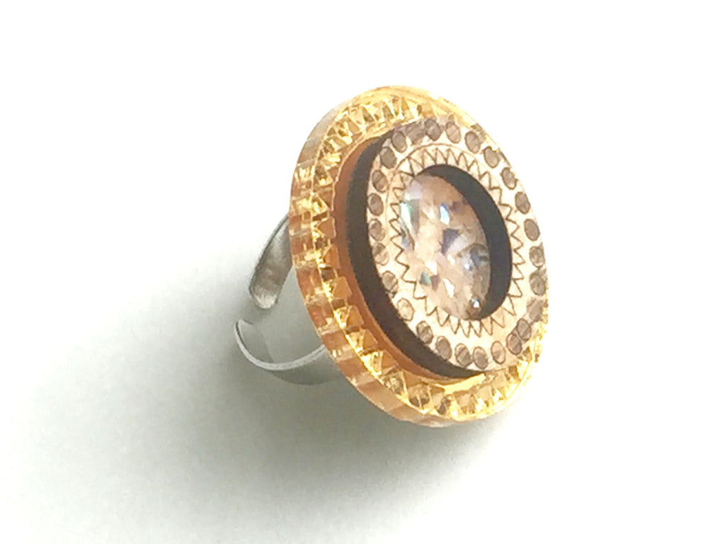 The Surya Ring - Off-White