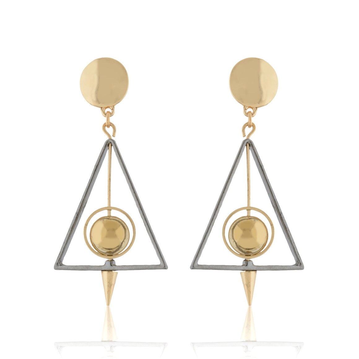 Tempest Rivet Earrings