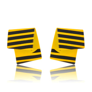 Raven - The Striped Studs - Yellow