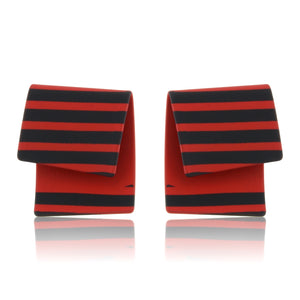 Raven - The Striped Studs - Red