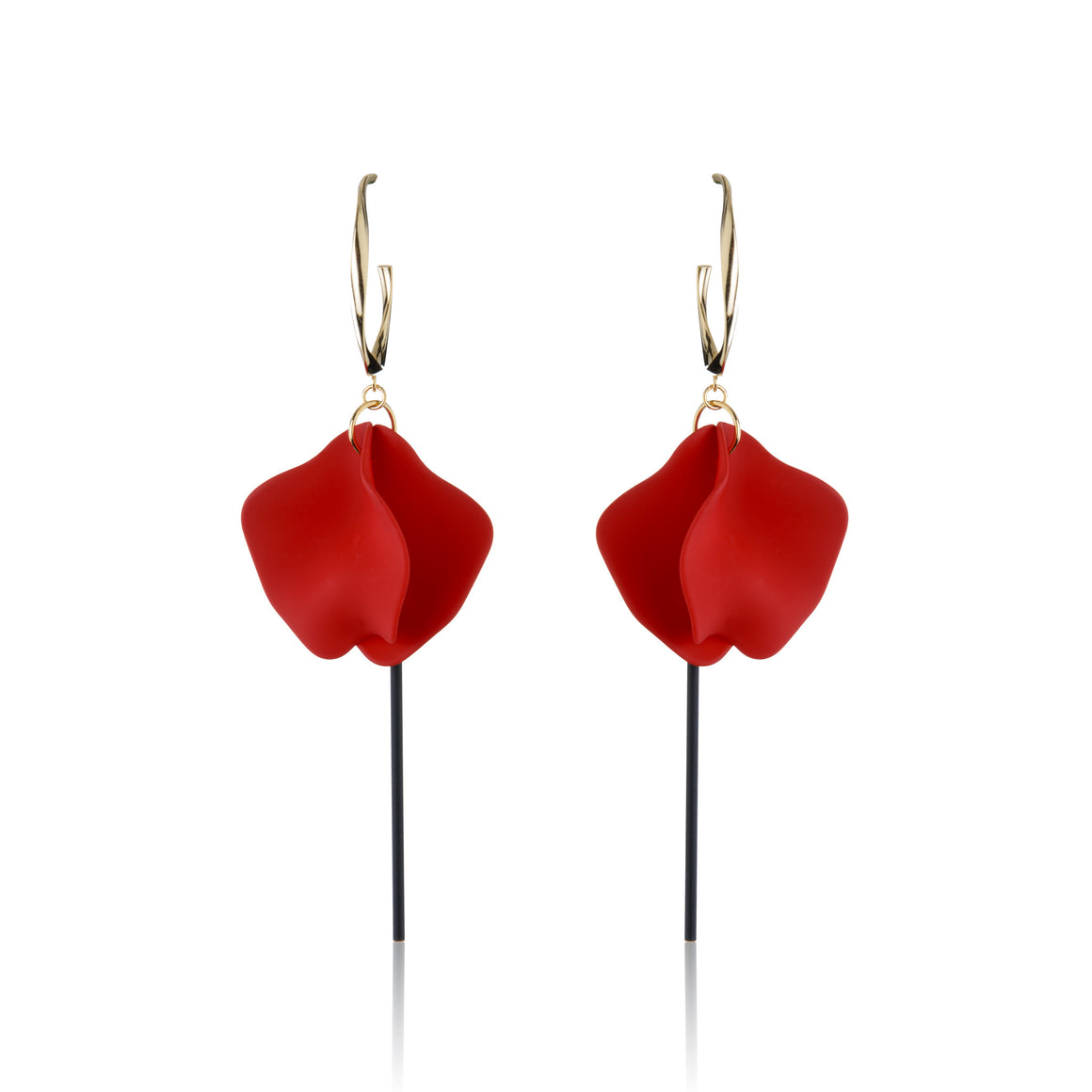 Liz Earrings - Red