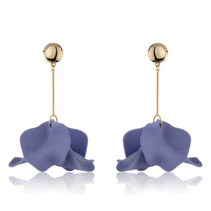 Licia Earrings - Violet