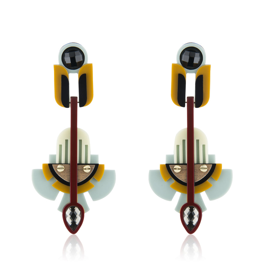 Demy Earrings - Mustard
