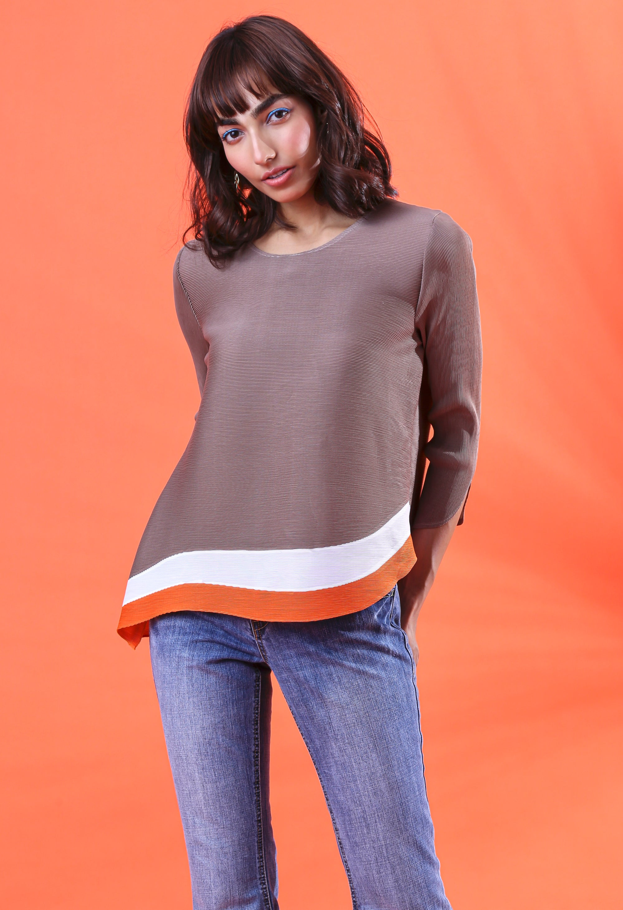 Isabel Top - Taupe