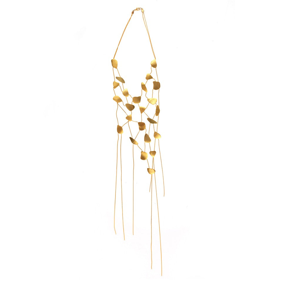 The Quad Dispersion Necklace Gold