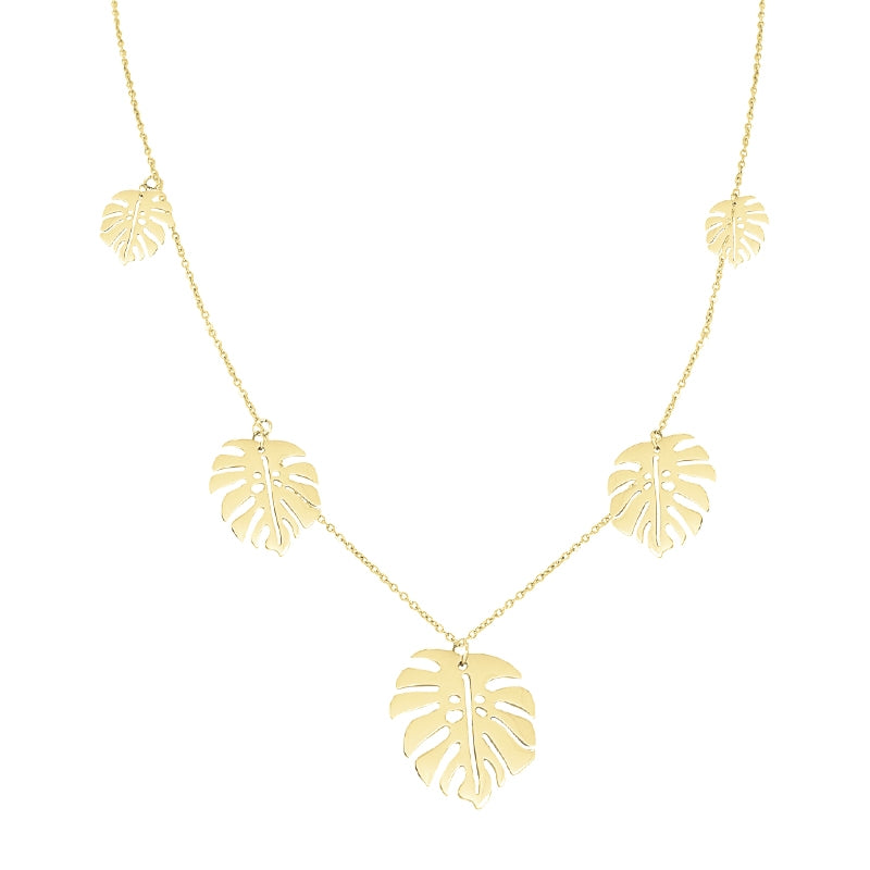 Leaves Neckalce
