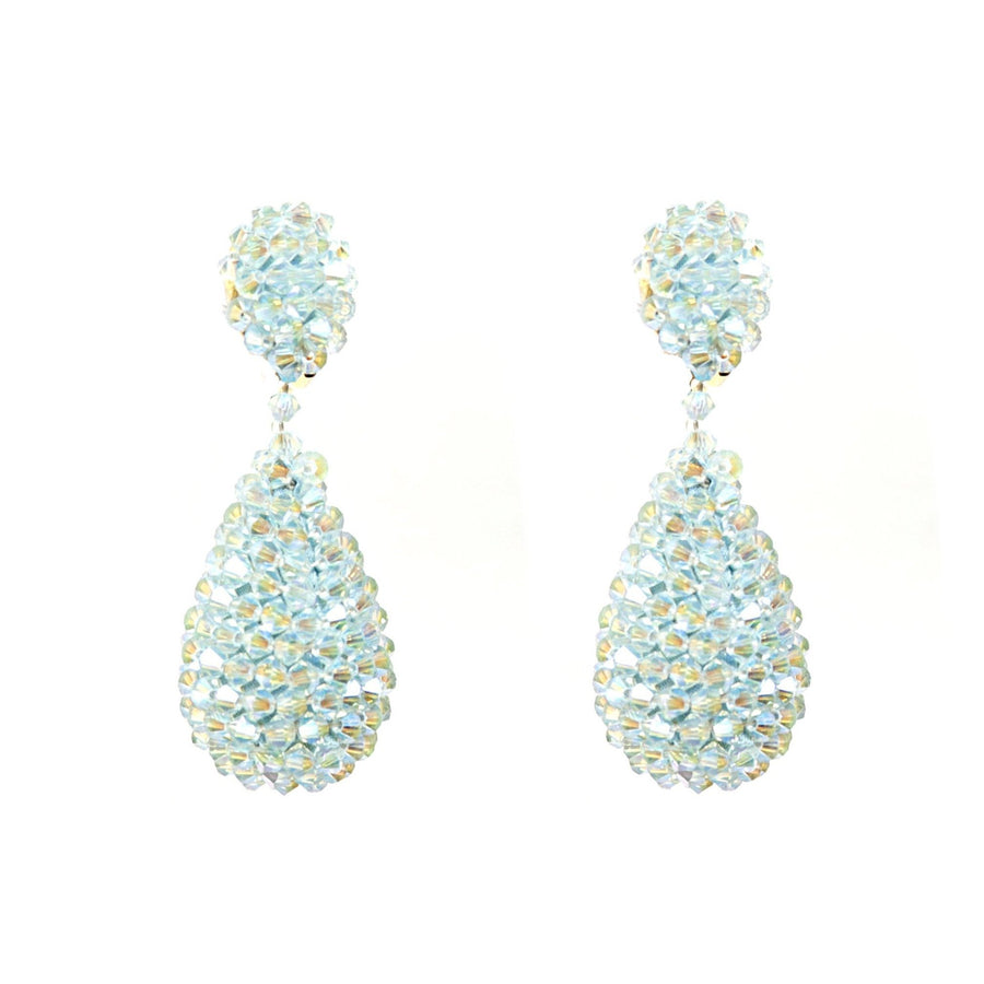 Alexis Drop Earrings -  Light Azure
