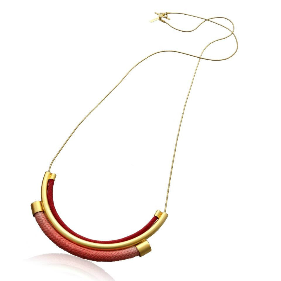 Neptune Necklace - Red