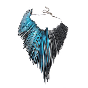 Palm Necklace - Turquoise