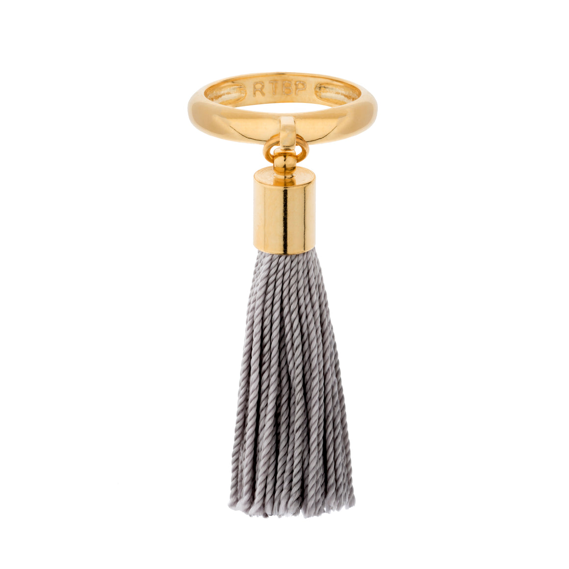 Eclipse Tassel Ring - Grey