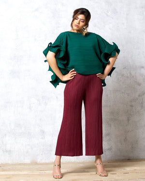 Kate Pants - Maroon
