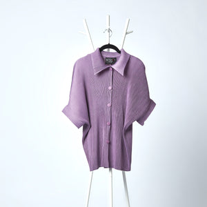 Shirt Top Monotone - Lavender