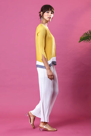 Isabel Top - Yellow