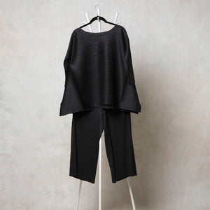 Side Panel Co-ord Set - Black
