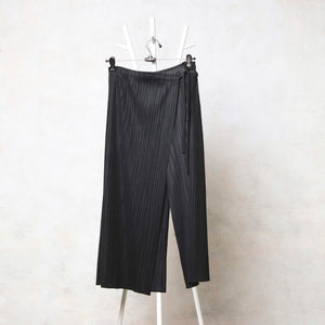Nora Skirt Pants - Black