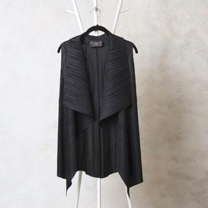 Sleeveless Overlay - Black