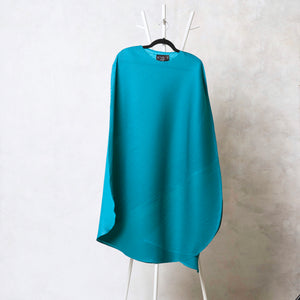 Cape Style, Bias Drape Dress - Turquoise
