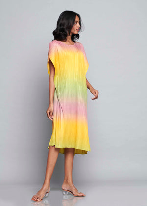 Ombre Long Dress - Spring Hues