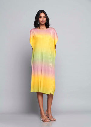 Ombre Dress - Spring Hues