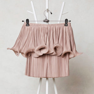 Signature Curl Top - Rose