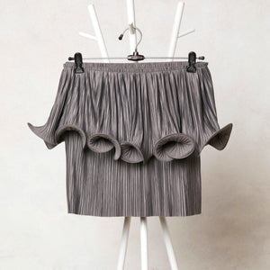 Signature Curl Top - Grey