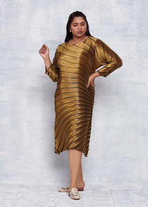 Stilla Dress - Antique Gold