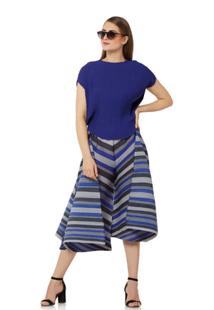 Diagonal Pleat Co-Ord Set