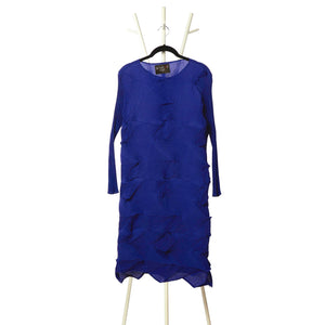 The 3D Victoria Dress - Royal Blue