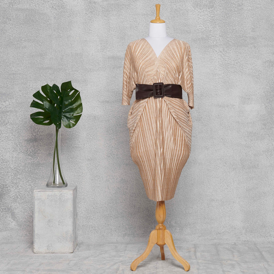 Cleopatra Dress - Cream & Gold