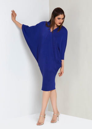 Blake Kimono Dress - Royal Blue