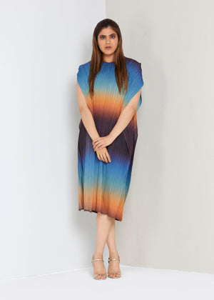 Ombre Long Dress