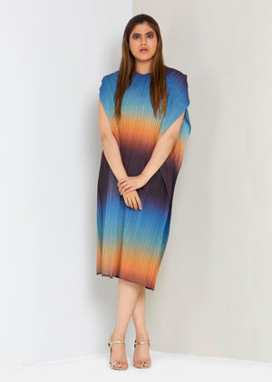 Ombre Dress - Sunset Sky