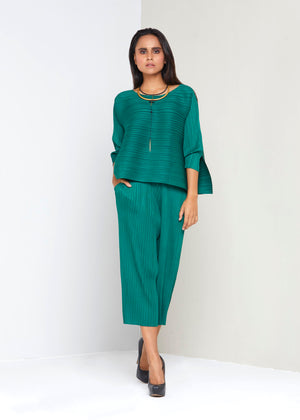 Side Panel  Co-ord set -Green