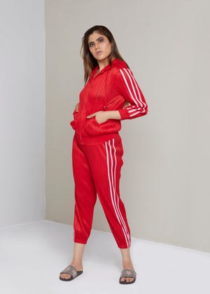 Track Set Co-ord - Red