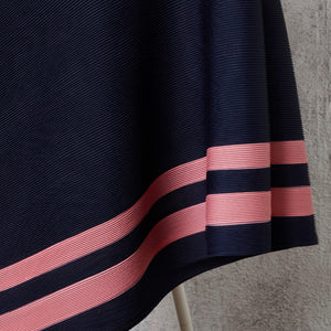 Stripe Top - Navy Pink