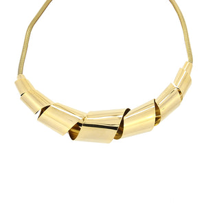 The Twisted Collar - Gold