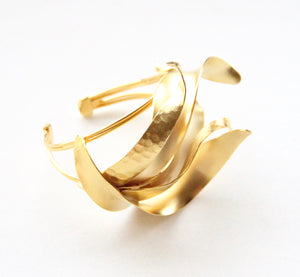 Scarlet Sage, Statement accessories, Statement Cuffs, Contemporary Jewellery, Art Jewellery