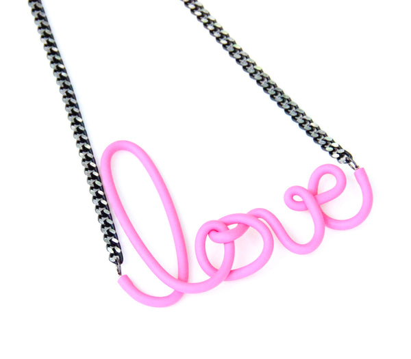 Love Necklace - Pink