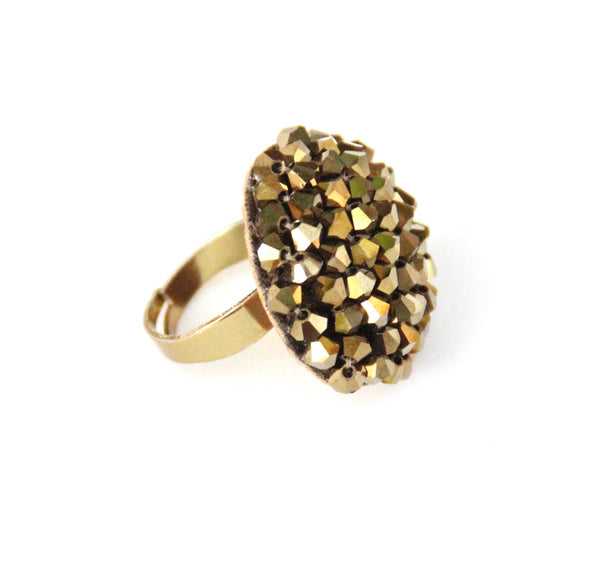 Chloe Ring - Antique Gold