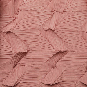 3Dimensional Pleated Top Pale Pink