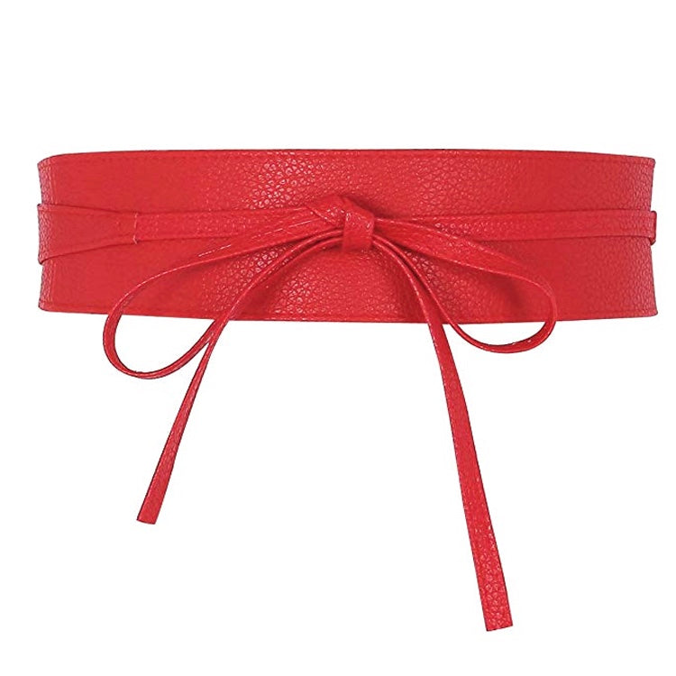 Tie Belt - Red