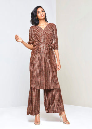 Cleopatra Dress - Bronze Gold